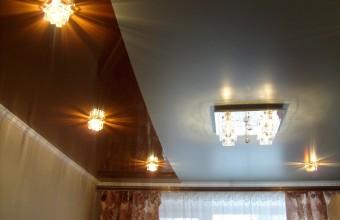 натяжные потолки для зала цена фото