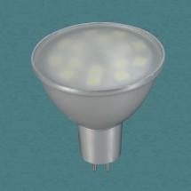 Лампа светодиодная 357080 NT11 037 тёплый белый свет GX5.3 3.5W 15SMD 220V - 381 руб.
