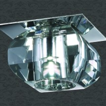Светильник встраиваемый 357010 NT09 408 хром/прозрачный 1LED 1W 220V CRYSTAL-LED - 234 руб.
