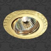 Светильник встраиваемый 369619 NT12 296 золото ПВ IP20 GX5.3 50W 12V COIL - 239 руб.