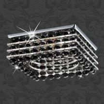 Светильник встраиваемый 369451 NT09 197 хром/чёрный GX5.3 50W 12V PEARL QUADRO - 632 руб.