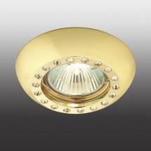 Светильник встраиваемый 369877 NT14 174 золото IP20 GX5.3 50W 12V SHINE - 732 руб.
