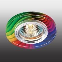 Светильник встраиваемый 369915 NT14 178 алюминий/цветной IP20 GX5.3 50W 12V RAINBOW - 381 руб.