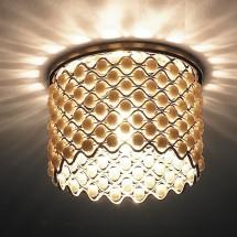 Светильник встраиваемый 369890 NT14 146 золото IP20 G9 40W 220V PEARL - 1061 руб.