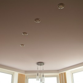 тканевые натяжные потолки