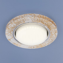 Встраиваемый точечный светильник 1062 GX53 WH/GD белый/золото 400р
