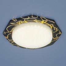 Встраиваемый точечный светильник 1065 GX53 BK/GD черный/золото 250р