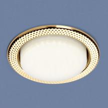 Встраиваемый точечный светильник 1066 GX53 GD золото 230р