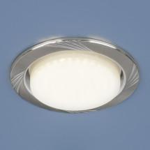Встраиваемый точечный светильник 1067 GX53 SN/SL сатин никель/серебро 250р
