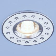 Алюминиевый точечный светильник 2008 MR16 WH белый 230р