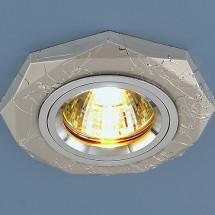 Точечный светильник поворотный 2040 SL MR16 (серебро) 230р