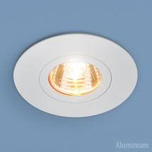 Алюминиевый точечный светильник 2100 MR16 WH белый 250р
