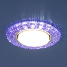 Точечный светильник со светодиодами 3030 GX53 VL фиолетовый, синий, зеленый 450р