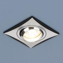 Точечный светильник 5108 MR16 CH/BK хром/черный 350р