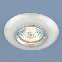 Точечный светильник из искусственного камня 6061 белый MR16 300р