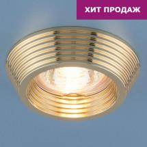 Точечный светильник 6066 MR16 GD золото 130р