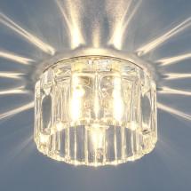 Встраиваемый потолочный светильник 8449 CH/WH G9 (хром / прозрачный) 350р