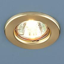 Точечный светильник 9210 GD MR16 (золото) 100р