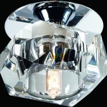 Светильник встраиваемый 369299 NT09 228 прозрачный хрусталь G9 40W 220V VETRO - 648 руб.