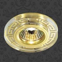 Светильник встраиваемый 369583 NT12 267 золото IP20 GX5.3 50W 12V MAZE - 548 руб.