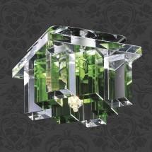 Светильник встраиваемый 369372 NT09 238 хром/прозрачно-зелёный IP20 G9 40W 220V CARAMEL 2 - 768 руб.