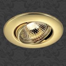 Светильник встраиваемый 369695 NT12 306 золото ПВ IP20 GX5.3 50W 12V CLASSIC - 141 руб.
