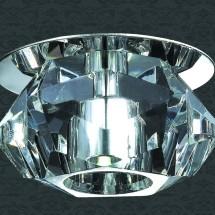 Светильник встраиваемый 357011 NT09 362 хром/прозрачный 1LED 1W 220V CRYSTAL-LED - 540 руб.