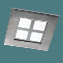 Светильник встраиваемый 357059 NT11 367 никель НП IP20 4LED 4*1W 220V BOX - 1 148 руб.