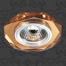 Светильник встраиваемый 369760 NT12 273 алюминий/янтарный IP20 GX5.3 50W 12V MIRROR - 466 руб.