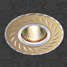 Светильник встраиваемый 369772 NT12 309 золото IP20 GX5.3 50W 12V VOODOO - 194 руб.