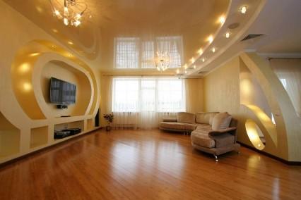 какие потолки лучше в квартире фото