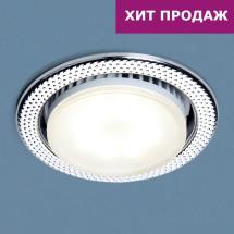 Встраиваемый точечный светильник 1066 GX53 CH хром 343р