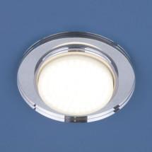 Точечный светильник 8061 GX53 зеркальный/серебро475р