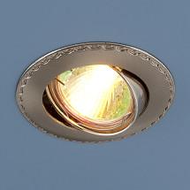 Точечный светильник для подвесных и натяжных потолков 635 SNN (сатин никель/никель) 285р