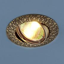 Точечный светильник медный 625 MR16 GAB бронза 251р