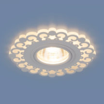 Встраиваемый светильник MR16 50W белый (2196) 577р